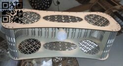 Chandelier E0012892 file cdr and dxf free vector download for laser cut