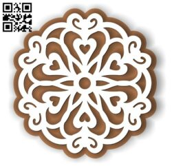 Christmas gingerbread E0012592 file cdr and dxf free vector download for laser cut
