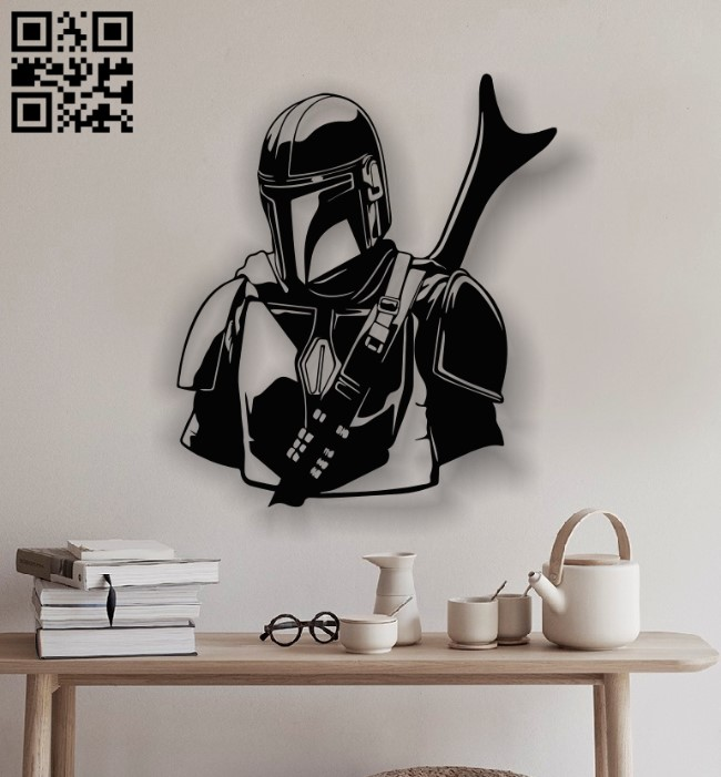 Darth Vader E0012663 file cdr and dxf free vector download for laser cut plasma