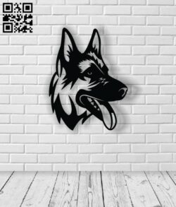 Dog E0012787 file cdr and dxf free vector download for laser cut plasma
