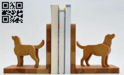 Dog bookshelf E0012902 file cdr and dxf free vector download for cnc