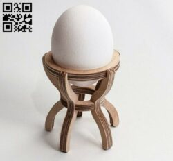 Egg shelf E0012899 file cdr and dxf free vector download for laser cut