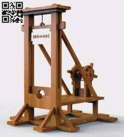 Guillotine E0012933 file cdr and dxf free vector download for laser cut