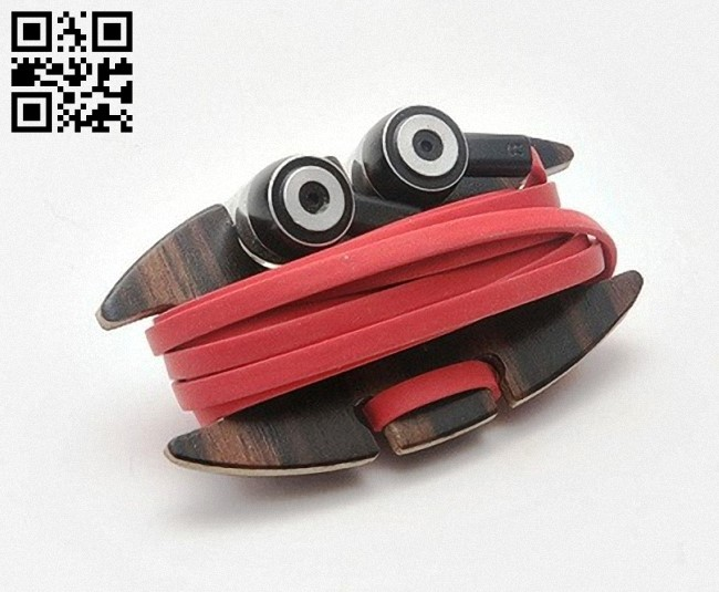 Headphones holder E0012580 file cdr and dxf free vector download for laser cut