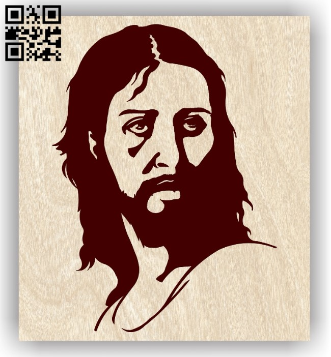 Jesus E0012916 file cdr and dxf free vector download for laser engraving machines