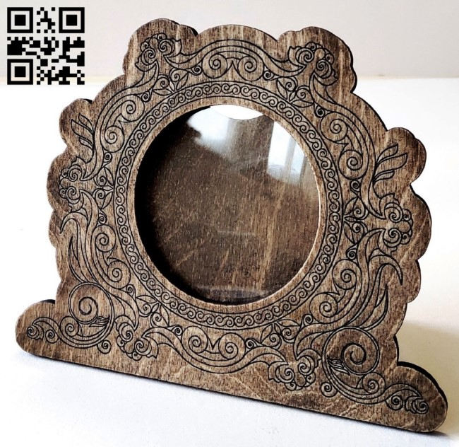 Photo frame E0012879 file cdr and dxf free vector download for laser cut plasma