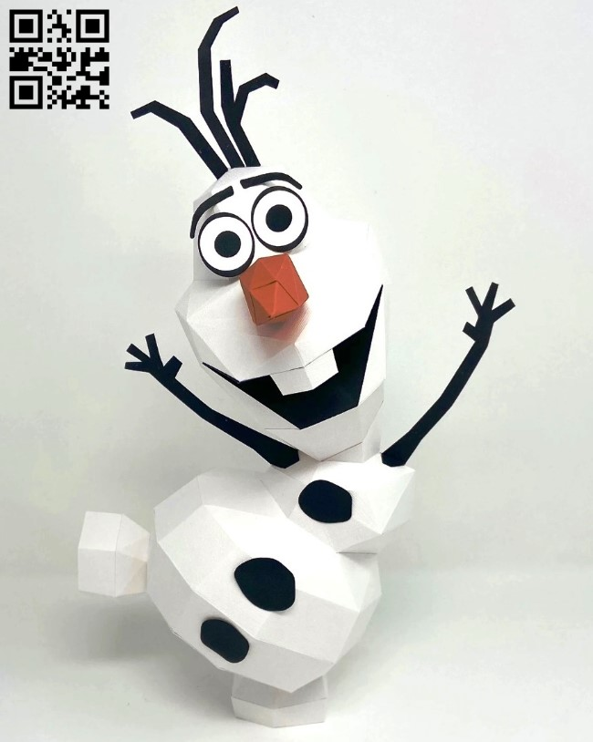 Snowman E0012574 file cdr and dxf free vector download for laser cut
