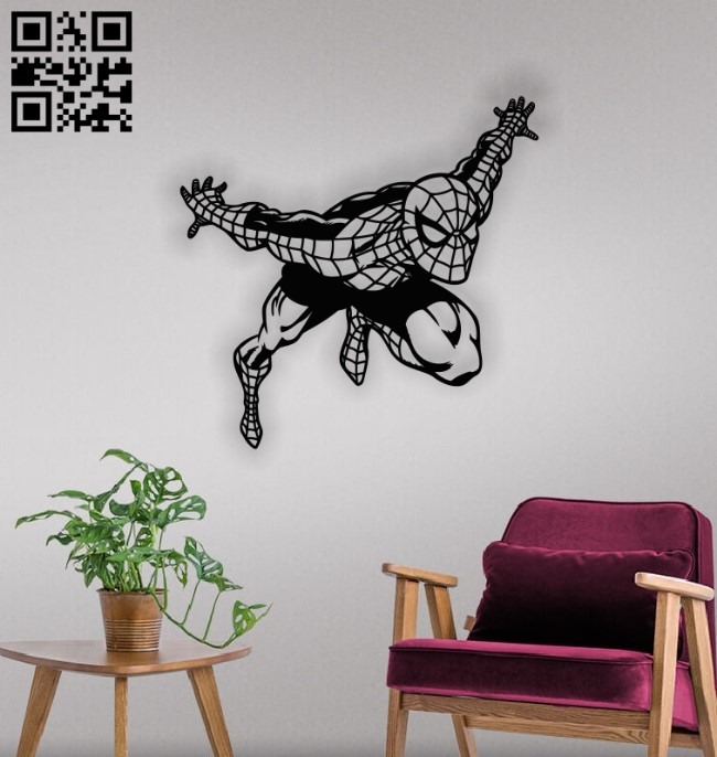 Spiderman E0012813 file cdr and dxf free vector download for laser cut plasma