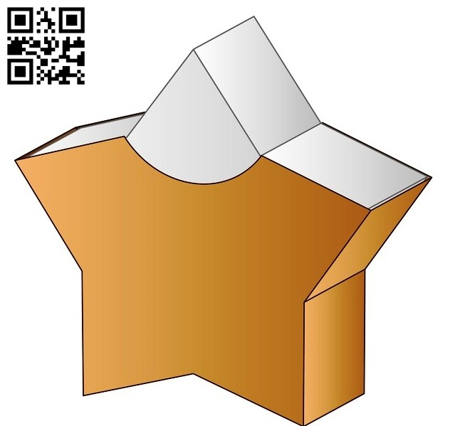Star box E0012694 file cdr and dxf free vector download for laser cut