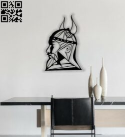 Viking E0012644 file cdr and dxf free vector download for laser cut plasma