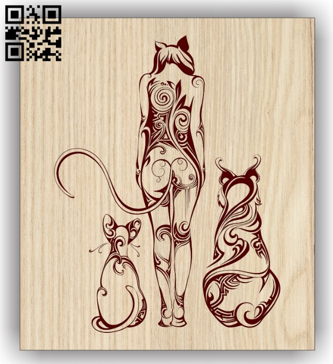 Art Painting E0013080 file cdr and dxf free vector download for laser engraving machines