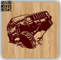 Car E0013153 file cdr and dxf free vector download for laser engraving machines