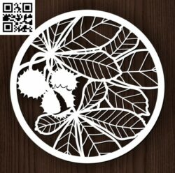 Circle ornament E0013107 file cdr and dxf free vector download for laser cut plasma