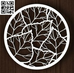 Circle ornament E0013108 file cdr and dxf free vector download for laser cut plasma