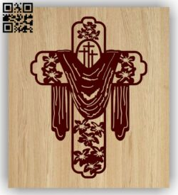 Cross E0013190 file cdr and dxf free vector download for laser engraving machines