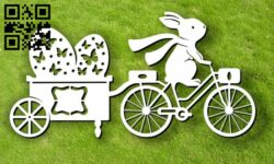 Easter Egg E0013060 file cdr and dxf free vector download for laser cut