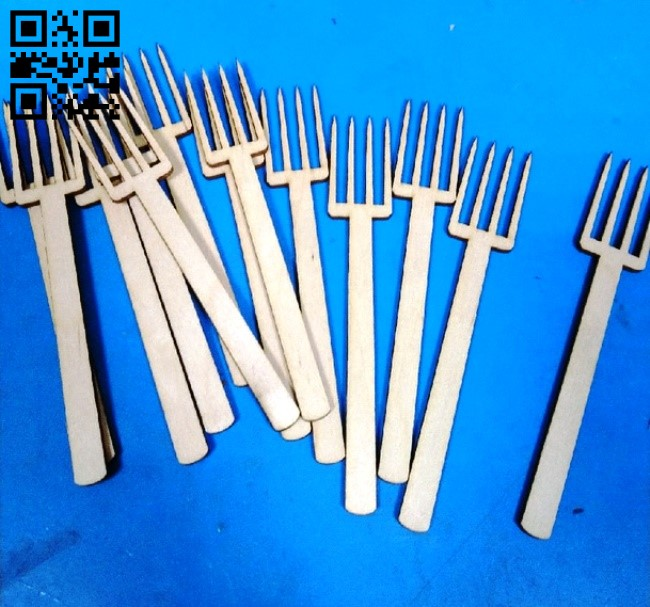 Fork E0013183 file cdr and dxf free vector download for laser cut