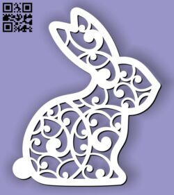 Hare E0013116 file cdr and dxf free vector download for laser cut