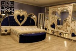 Heart bedroom E0013111 file cdr and dxf free vector download for CNC cut