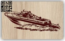Ship E0013156 file cdr and dxf free vector download for laser engraving machines