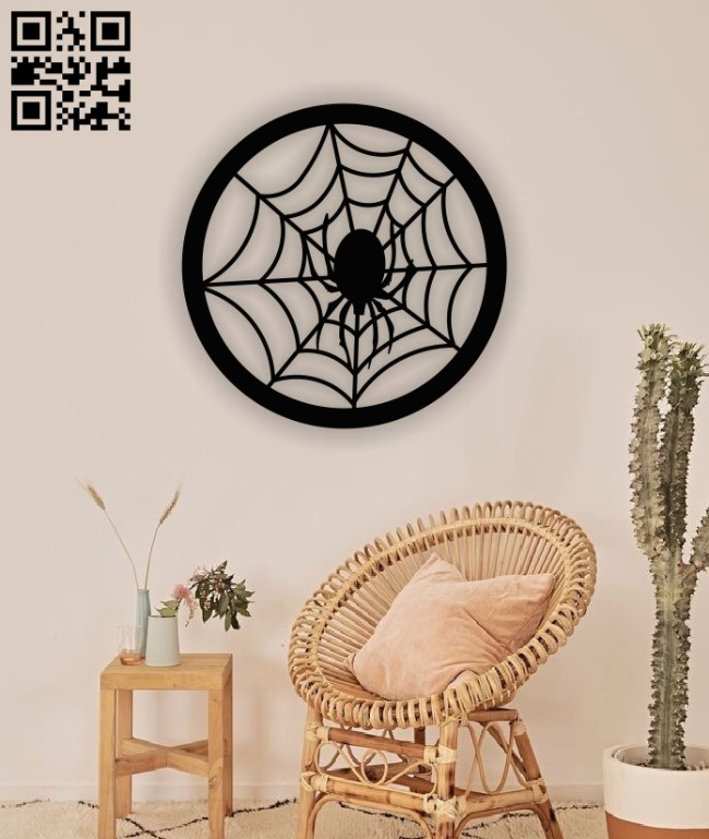 Spiderweb E0013040 file cdr and dxf free vector download for laser cut plasma