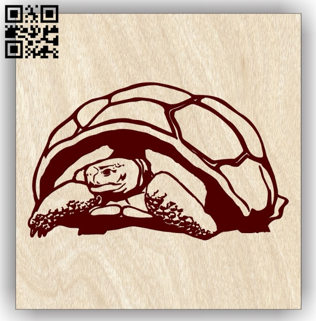 Tortoises E0013102 file cdr and dxf free vector download for laser engraving machines