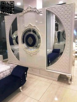 Turkish style bedroom E0013113 file cdr and dxf free vector download for CNC cut
