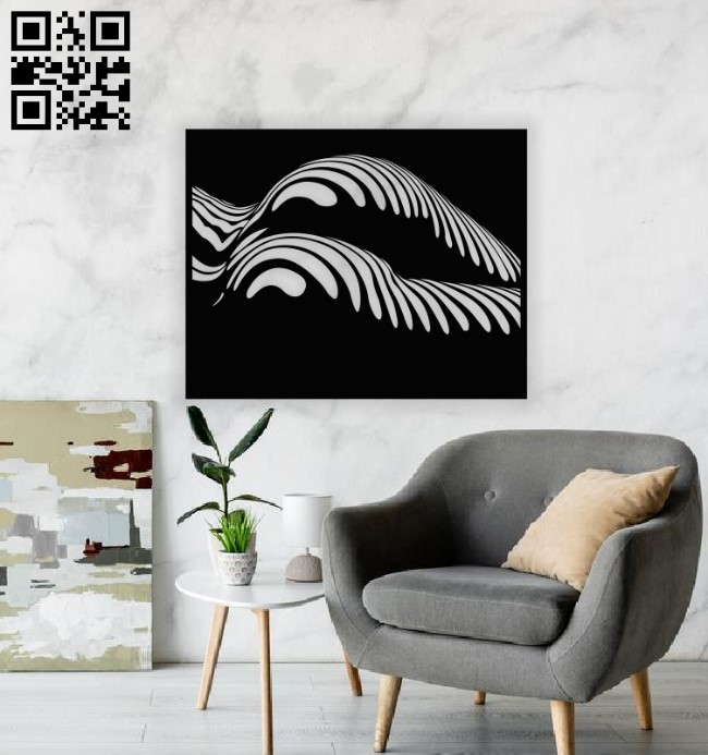 Wall decor E0013043 file cdr and dxf free vector download for laser cut plasma