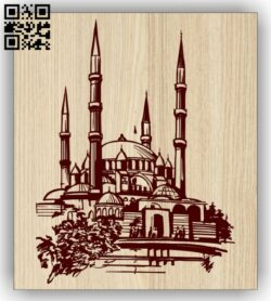 Architecture E0013323 file cdr and dxf free vector download for laser engraving machines