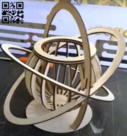 Atomic basket E0013208 file cdr and dxf free vector download for laser cut