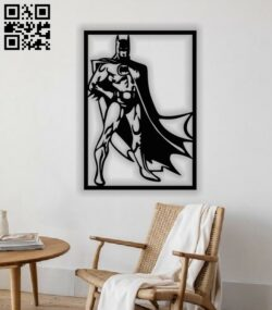 Batman E0013250 file cdr and dxf free vector download for laser cut