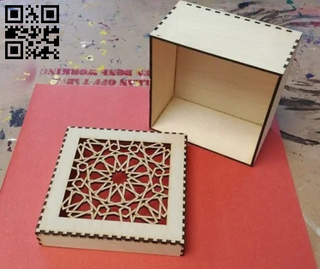 Box E0013248 file cdr and dxf free vector download for laser cut