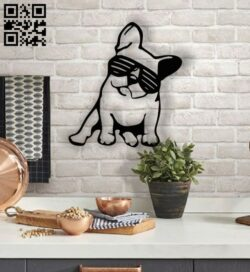 Bull dog E001362 file cdr and dxf free vector download for laser cut plasma