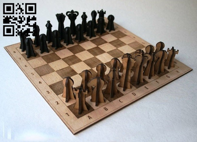 Chess E0013370 file cdr and dxf free vector download for laser cut