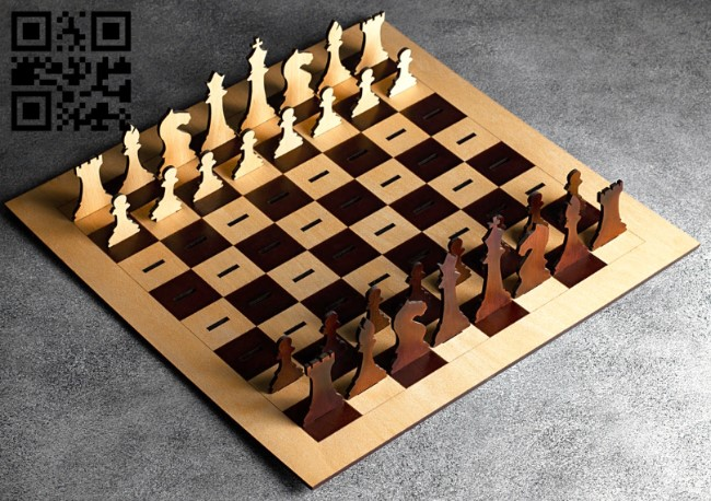 Chess E0013371 file cdr and dxf free vector download for laser cut