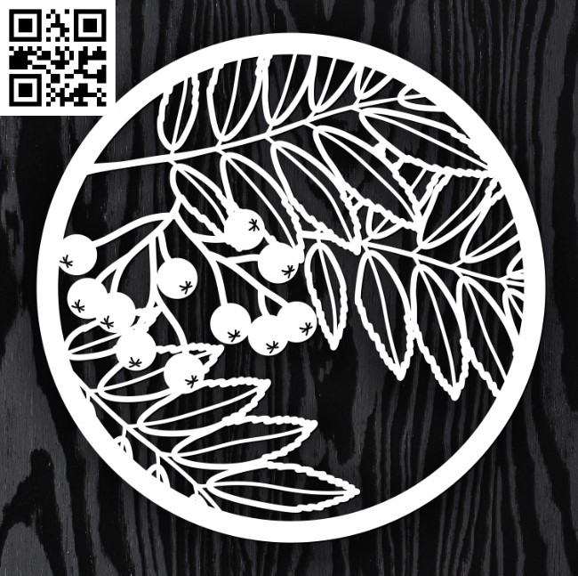 Circle ornament E0013223 file cdr and dxf free vector download for laser cut cnc