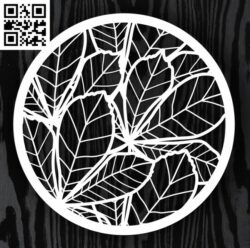 Circle ornament E0013224 file cdr and dxf free vector download for laser cut cnc