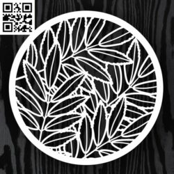 Circle ornament E0013225 file cdr and dxf free vector download for laser cut
