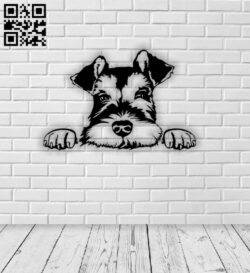 Dog E0013214 file cdr and dxf free vector download for laser cut plasma