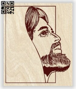 Jesus Christ E0013418 file cdr and dxf free vector download for laser engraving machine