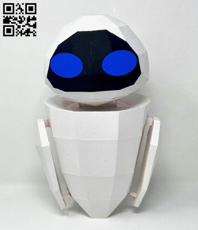Robot E0013337 file cdr and dxf free vector download for laser cut