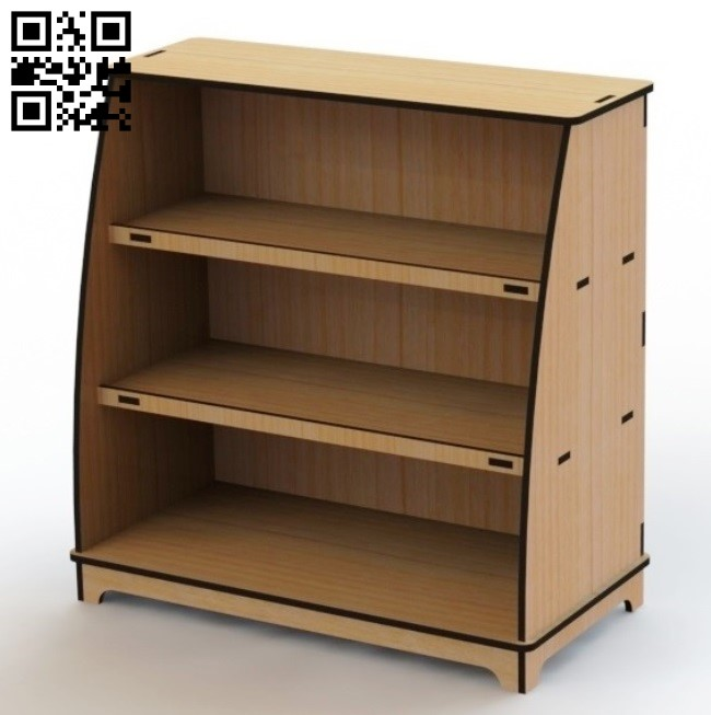 Storage shelf E0013275 file cdr and dxf free vector download for laser cut