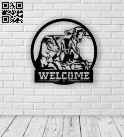 Three goats E0013219 file cdr and dxf free vector download for laser cut plasma
