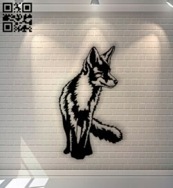 Wolf E0013216 file cdr and dxf free vector download for laser cut plasma