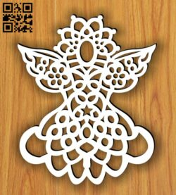 Angel E0013710 file cdr and dxf free vector download for laser cut plasma