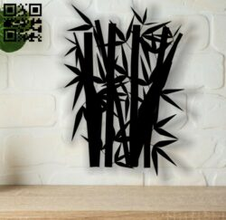 Bamboo E0013683 file cdr and dxf free vector download for cnc cut plasma