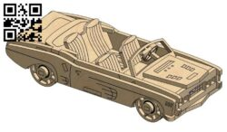 Car E0013688 file cdr and dxf free vector download for cnc cut