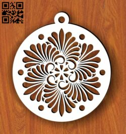 Christmas tree toy E0013716 file cdr and dxf free vector download for laser cut plasma