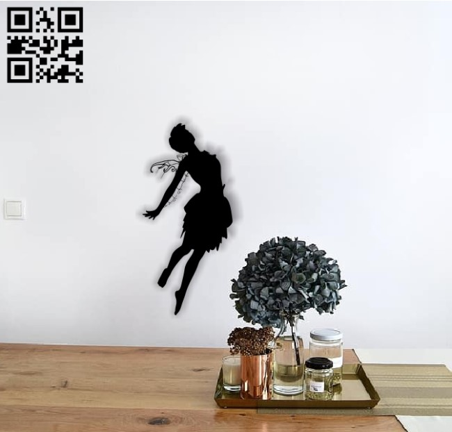 Fairy E0013676 file cdr and dxf free vector download for cnc cut plasma
