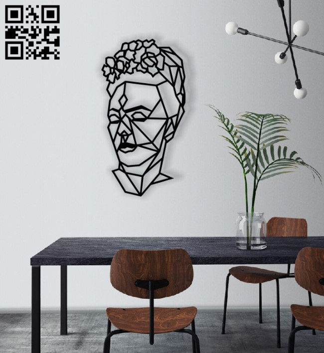 Frida geometry E0013615 file cdr and dxf free vector download for laser cut plasma